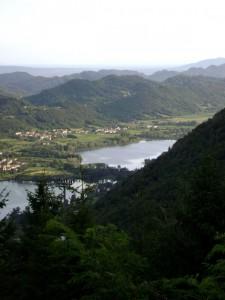 Lago di Santa Maria ad Est e Lago di Lago ad Ovest
