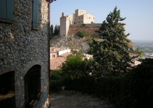 Rocca Malatestiana  VERUCCHIO Luglio 2009