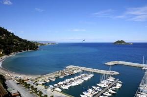 il porto e l'isola