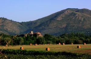 il castello di Calvi Vecchia (CE)