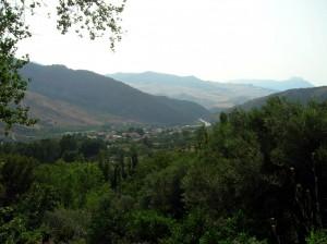 Scillato tra il verde del Parco delle Madonie.