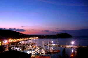 …visione notturna….Cavo (Isola d'Elba)