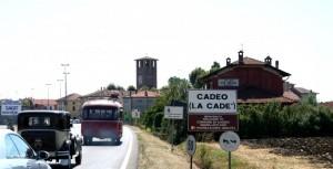 Auto d'epoca a Cadeo