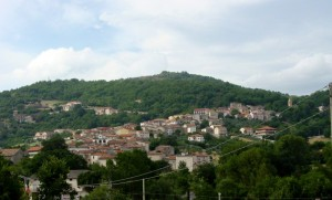 Panorama di Indiprete (frazione di Castelpetroso)