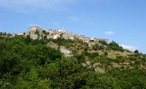 Panorama di Macchiagodena nel Molise