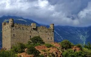 Ussel, Castello