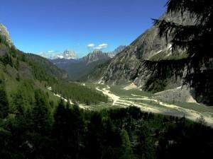 Panorama dal Rifugio Falier