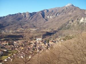 panorama Arsiero con vista cima Priaforà