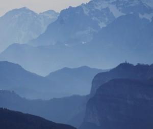 Il Cimone Visto dal Monte Rasta -Altopiano di Asiago.