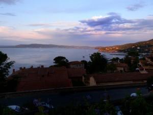 Notturno sulla baia di Porto Santo Stefano