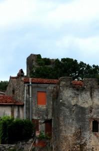 torri del castello di Policastro