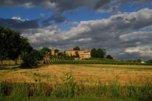 Borgo medievale e campagna