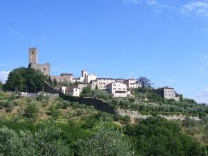 Larciano Castello e le sue mura