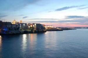 Polignano a Mare al tramonto