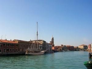 veliero a Murano