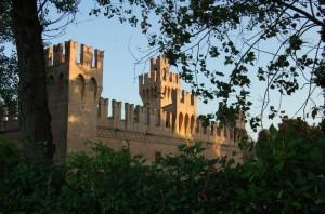 Il Castello di San Martino- Lato posteriore
