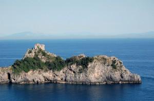 Torre normanna a Conca dei Marini