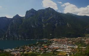 Panorama di Riva dal Tetto della Batteria di Mezzo