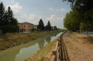 Passeggiata lungo il fiume Riolo
