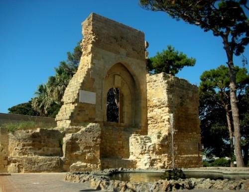 Mazara del Vallo - ARCO NORMANNO di Ruggero I d'Altavilla