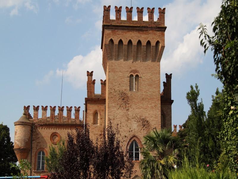 ''castello di Santa Maria Fabriago'' - Lugo