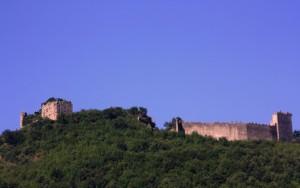 la parte Normanna  dell'immenso castello dei Sanseverino
