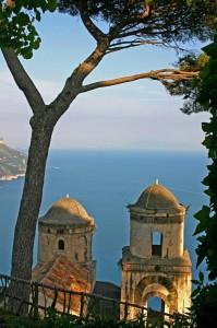 Ravello (SA), panorama da villa rufolo