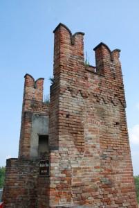 una torretta delle vecchie mura
