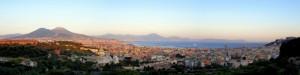 Napoli - Panoramica da Capodimonte a San Martino