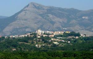 Panorama di Sant'Ambrogio sul Garigliano