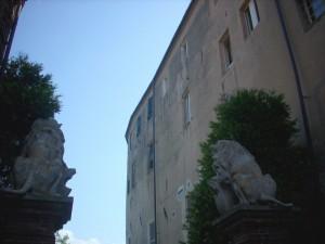 Uscita dal Castello di Vernone