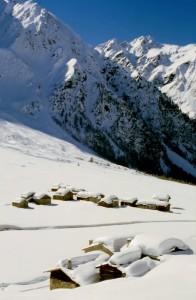 Le baite della Val di Rezzalo