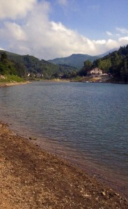 Il lago d'agosto