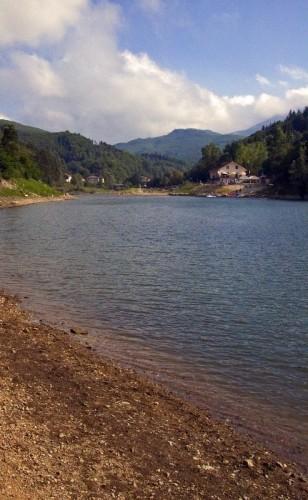 Osiglia - Il lago d'agosto