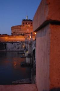 Castel Sant'Angelo al crepuscolo