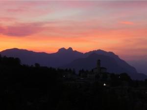 monte marenzo - tramonto estivo