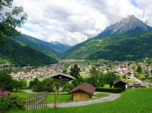 Valle di Priniero - Transacqua, adagiata sulla valle
