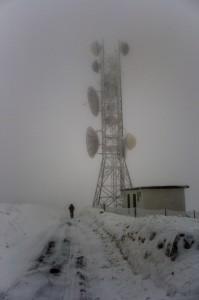 nevicata sul monte beigua
