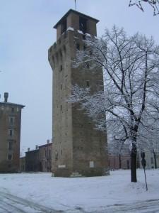 la torre di revere, nevicata straordinaria