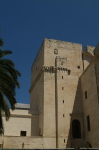 Castello Carlo V- Bastione interno