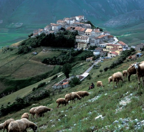 Norcia - Castelluccio di Norcia dall'alto