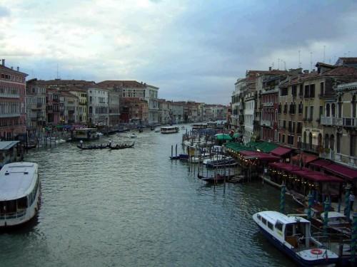 Venezia - canal grande venezia