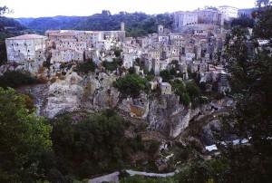 Sorano, agosto 2000