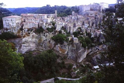 Sorano - Sorano, agosto 2000