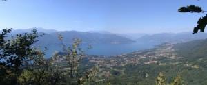 Uno sguardo al lago Maggiore dal Monte Nudo