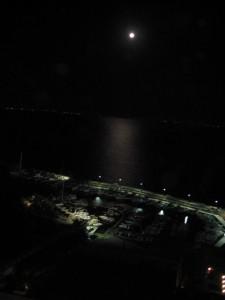 la luna sul golfo…