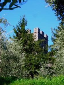 Torre del castello di Vezio