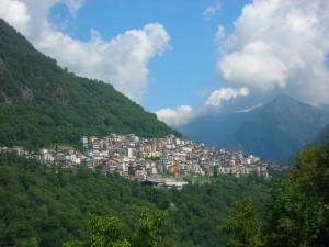Splendida vista panoramica su Premana