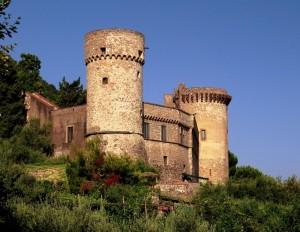 Castello di Castellammare, visione laterale