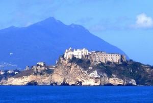 Terra murata con monte Epomeo (Ischia)